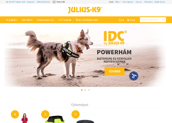 Referencia munkáink: Shop.julius-k9